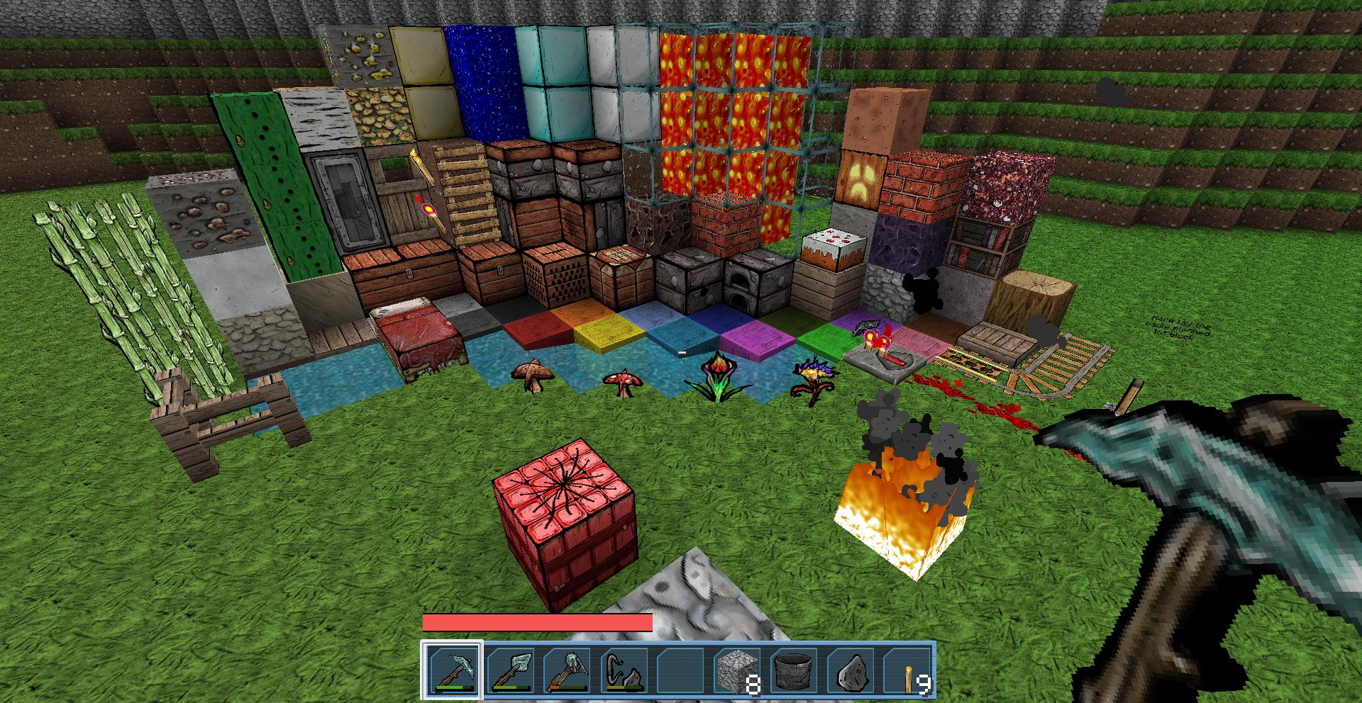 Minecraft texture adventure