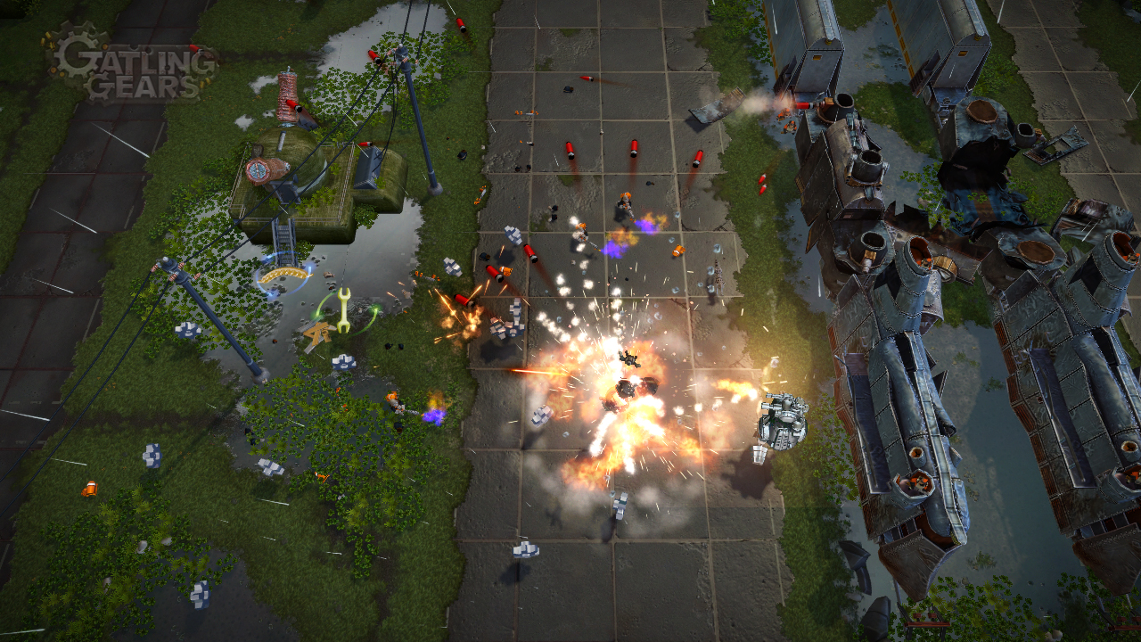 Gatling Gears Review – MMGaming